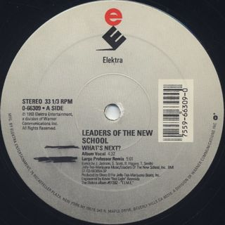 Leaders Of The New School / What's Next? label