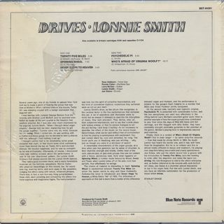 Lonnie Smith / Drives back