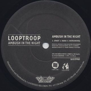Looptroop / Ambush In The Night label