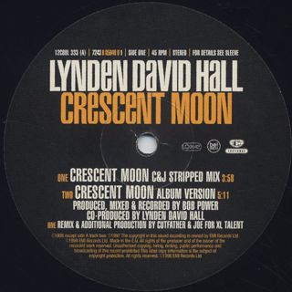 Lynden David Hall / Crescent Moon label