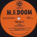 M.F. Doom / The M.I.C. b/w Red and Gold
