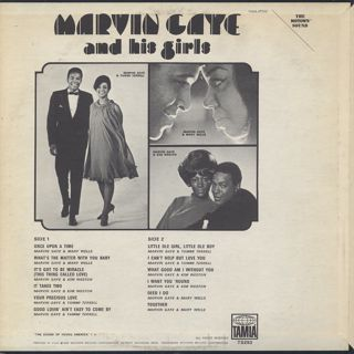 Marvin Gaye / Marvin Gaye And His Girls back