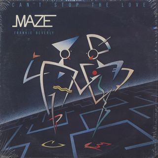 Maze featuring Frankie Beverly / Can't Stop The Love front