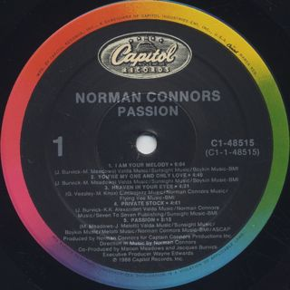 Norman Connors / Passion label