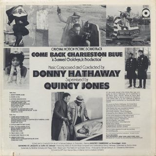 O.S.T.(Donny Hathaway) / Come Back Charleston Blue back