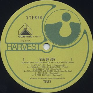 O.S.T.(Tully) / Sea Of Joy label