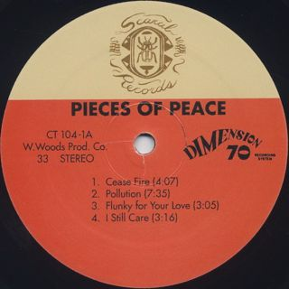 Pieces Of Peace / Pieces Of Peace label