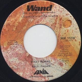 Ralfi Pagan / Make It With You c/w Stray Woman back