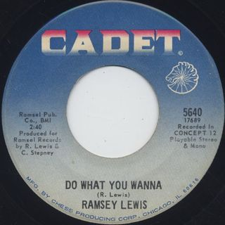 Ramsey Lewis / Julia c/w Do What You Wanna back