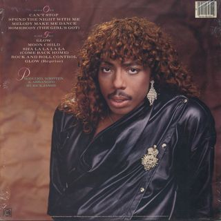 Rick James / Glow back