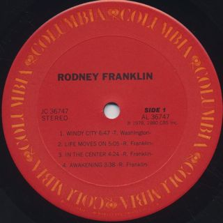 Rodney Franklin / S.T. label