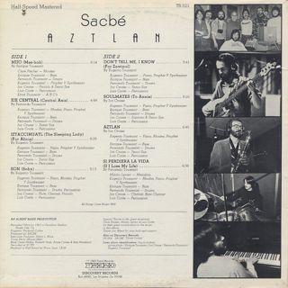Sacbe / Aztlan back