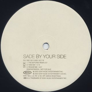 Sade / By Your Side back