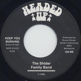 Shider Family Band / Keep You Burning