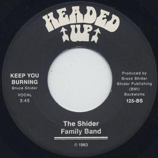 Shider Family Band / Keep You Burning back