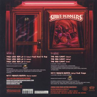 Smut Peddlers featuring Kool G Rap / Talk Like Sex pt.2 back