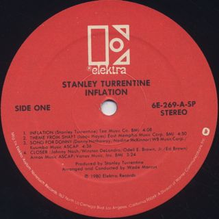 Stanley Turrentine / Inflation label