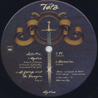 Toto / Hydra label