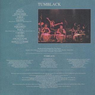 Tumblack / Tumblack back