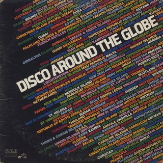 V.A. / Disco Around The Globe front
