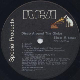 V.A. / Disco Around The Globe label
