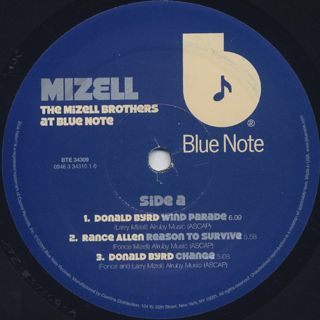 V.A. / The Mizell Brothers At Blue Note label