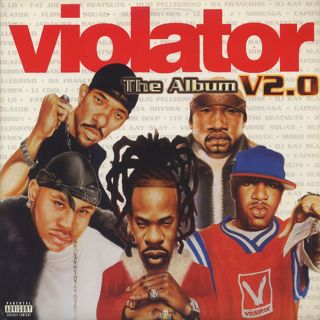 V.A. / Violator: The Album V2.0 front