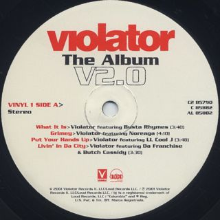 V.A. / Violator: The Album V2.0 label
