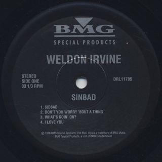 Weldon Irvine / Sinbad (Re) label