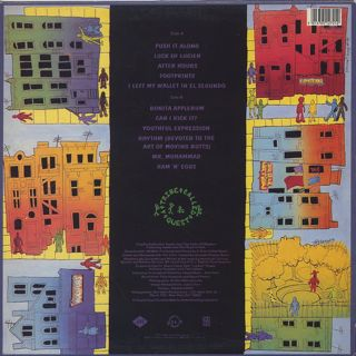 A Tribe Called Quest / People's Instinctive Travels And The Paths Of Rhythm back