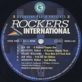 Augustus Pablo / Rockers International label