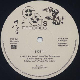Barrington Levy / Barrington Levy's Life Style label