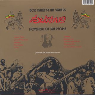 Bob Marley And The Wailers / Exodus back