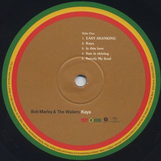 Bob Marley And The Wailers / Kaya label