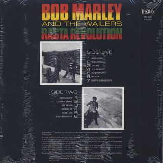 Bob Marley And The Wailers / Rasta Revolution back
