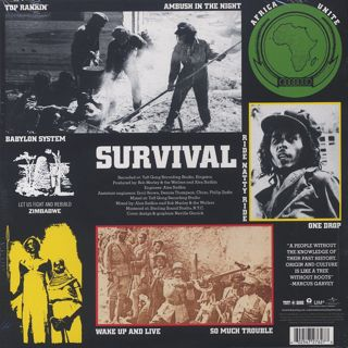 Bob Marley And The Wailers / Survival back