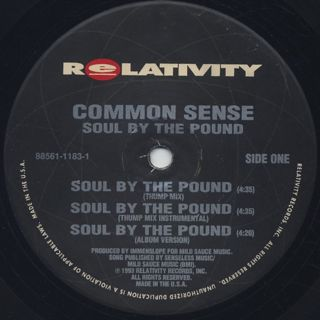 Common Sense / Soul By The Pound / Can-I-Bust / Heidi Hoe label