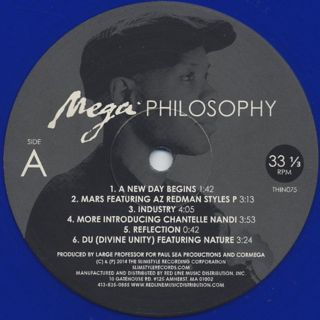 Cormega / Mega Philosophy label