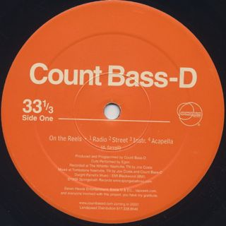 Count Bass D / On The Reels back