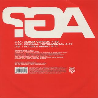 De La Soul Featuring Chaka Khan / All Good? (It Ain't And That's The Truth) back
