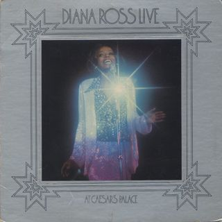 Diana Ross / Live At Caesars Palace front