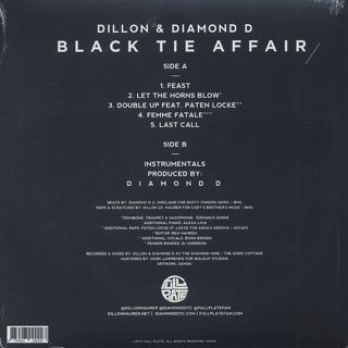 Dillon & Diamond D / Black Tie Affair back