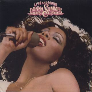 Donna Summer / Live And More front