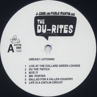 Du-Rites / Greasy Listening label