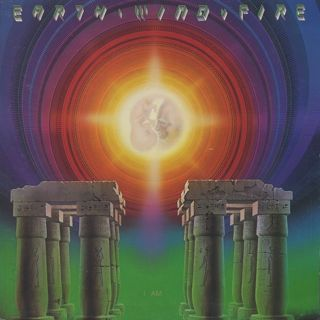 Earth, Wind & Fire / I Am front