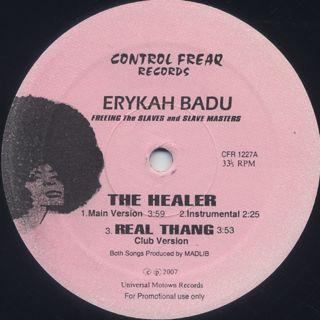Erykah Badu / The Healer back