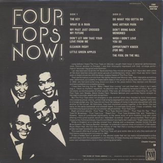 Four Tops / Now! back