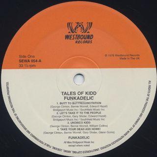 Funkadelic / Tales Of Kidd Funkadelic label