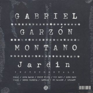 Gabriel Garzon-Montano / Jardin Instrumentals back