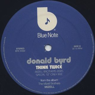 Gary Bartz / Donald Byrd / Funked Up c/w Think Twice label